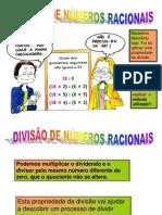 Nº Fraccionários Divisão