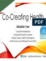 Co-Creating Health - S Yuen