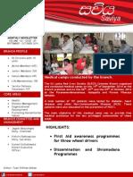 Saviya Newsletter - September October 2014
