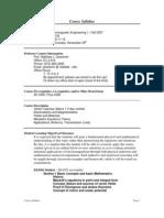 UT Dallas Syllabus for ee4301.001.07f taught by Matthew Goeckner (goeckner)