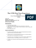 UT Dallas Syllabus for rhet1101.031.07f taught by Sherry Marek (sherrys)
