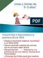 Normas y límites Charla para familias de escuelas infantiles