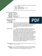 UT Dallas Syllabus for geos3321.501.07f taught by Ignacio Pujana (pujana)