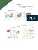 Test Paper Clasa 1
