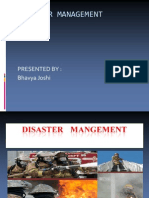 Disaster Management A