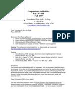 UT Dallas Syllabus for ba4307.001.07f taught by Padmakumar Nair (pxn031000)