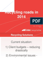 Recycling Road