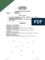 Topografia Examen Parcial 2008-01