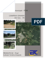 Plano Diretor Campina Grande Do Sul - 2014