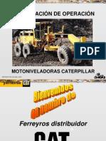 Curso Capacitacion Operacion Motoniveladoras Caterpillar 14h