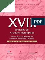El Tesauro de Archivos Municipales CD