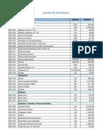Base de Datos Curso Presupuesto