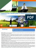 Estudio Global Salud Corporativa
