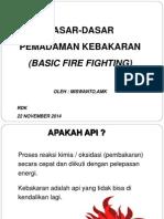 Spo Penanggulangan Bencana Kebakaran