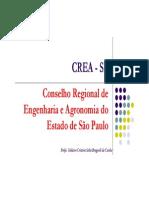 Palestra CREA - Engenharia de Produção