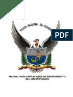 Manual Para Operaciones de Mantenimiento Del Orden Final