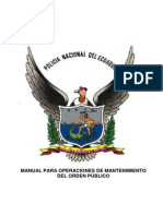 Manual Para Operaciones de Mantenimiento Del Orden Final