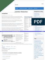 Http Ralfzosel de Blog 2011-11-16 Screenshots Von Kompletten Webseiten Erstellen