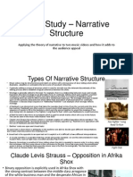 Case Study – Narrative Structure - Revised