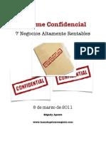 Informe confidencial
