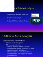 Meta Analysis Overview