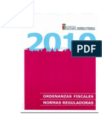 2010 Ordenanzas Fiscales y Normas Reguladoras