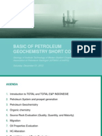 Basic of Petroleum Geochemistry Short Course