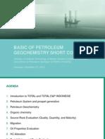 Basic of Petroleum Geochemistry Short Course