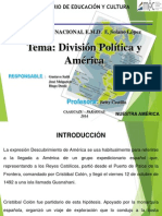 PRESENTACIÓN DIVISIÓN DE AMERICA.ppt