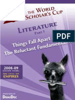 Reluctant Fundamentalist Scholar's Cup