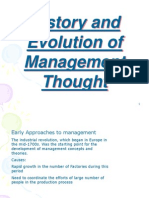 Evolution of Managment Thought1 (1)