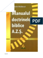 Manualul Doctrinelor Biblice by Moldovan Vilhelm