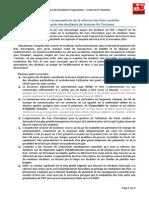 Conséquences et perceptions de la réforme des frais modulés - Enquête auprès des étudiants de Sciences Po Toulouse