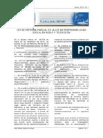 Ley de Reforma Parcial de La Ley de Responsabilidad Social en Radio y Television