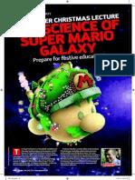The Science of Super Mario Galaxy