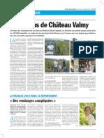 Les vendanges au Château Valmy