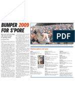 Bumper 2009 for S'pore, 19 Dec 2009, Straits Times