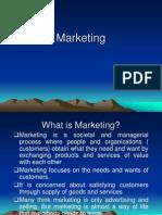 Marketing Mangement Specific