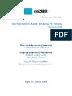 Boletin Epidemiologico Vih 1983-2012