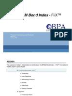 BPAM Bond Index Road Show 2009