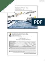 1º Aula - Contabilidade e FinançAs