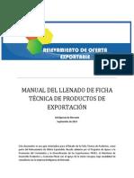 Manual Ficha Tecnica