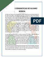 Barreras Semanticas de Alvaro Noboa