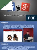 Prezentare Facebook vs Google+