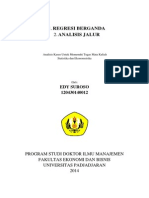 Regresi berganda dan path analisis