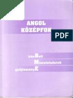 BME Angol Kozepfok Nyelvvizsga Felkeszitő Konyv