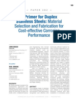 A Primer for Duplex Stainless Steels