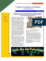 2ndo Boletin Informativo COPSIH