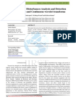Power Quality Disturbances Analysis and Detection using Discrete and Continuous wavelet transforms