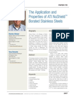 The Application and Properties of ATI NuShield™ Borated Stainless Steels